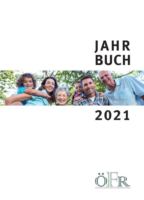 Titelseite Jahrbuch 2021 der ÖFR